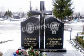 Granite monuments from CornerStone manufacturer